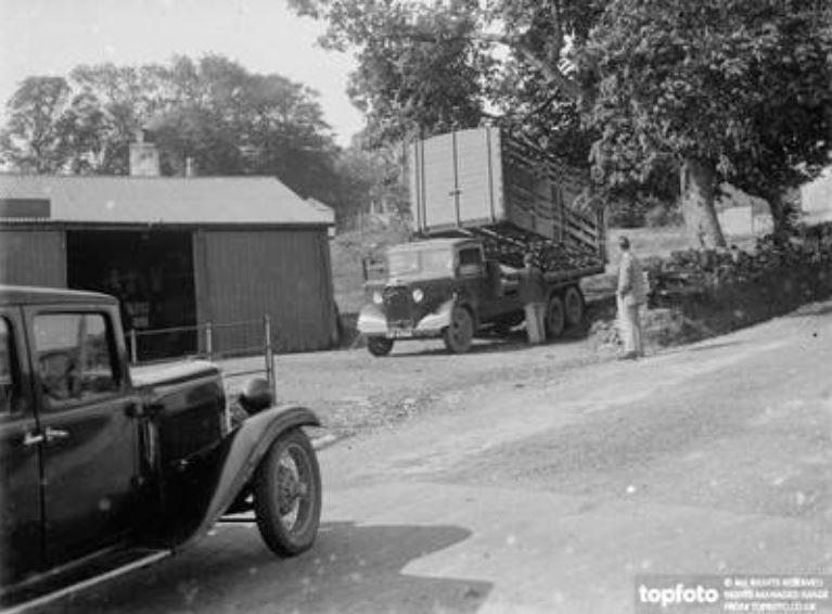 Borgue village, 1930s